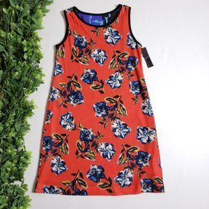 NALLY & MILLIE Reversible Printed Shift Dress